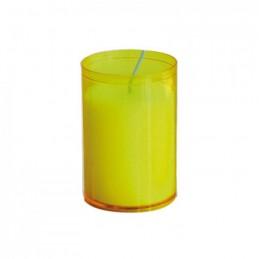 Kerzen Brenneinsätze yellow