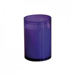Kerzen Brenneinsätze violett
