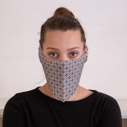 Behelfs- Mund- und Nasenmaske / Alltagsmaske Hanprotec WBF-1 (Einweg), Grace