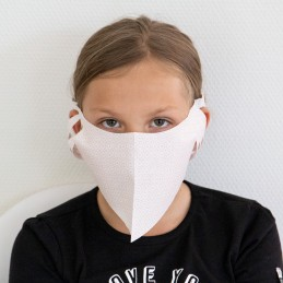 Kinder- Mund- und Nasenmaske / Kindermaske Hanprotec WBF-Kids (Einweg), Girly