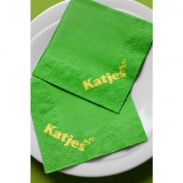 Hantiss Tissue-Serviette (3-lagig) 24 x 24 cm (1/4 Falz), mit Ihrem Werbedruck