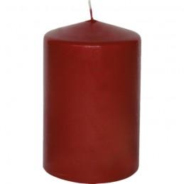 Stumpen Kerzen weinrot, Ø 6,8cm, H 13,5cm
