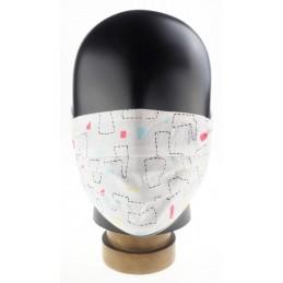 Kinder-, Community-Maske / Mund- und Nasenmaske, Formen, WASCHBAR und WIEDERVERWENDBAR