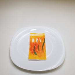 Zelltuch-Serviette, 33 x 33...