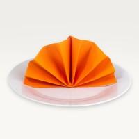 Servietten Orange
