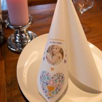 Servietten bedrucken lassen ab 25 Stück für Hochzeit, Taufe, Kommunion, Geburtstag